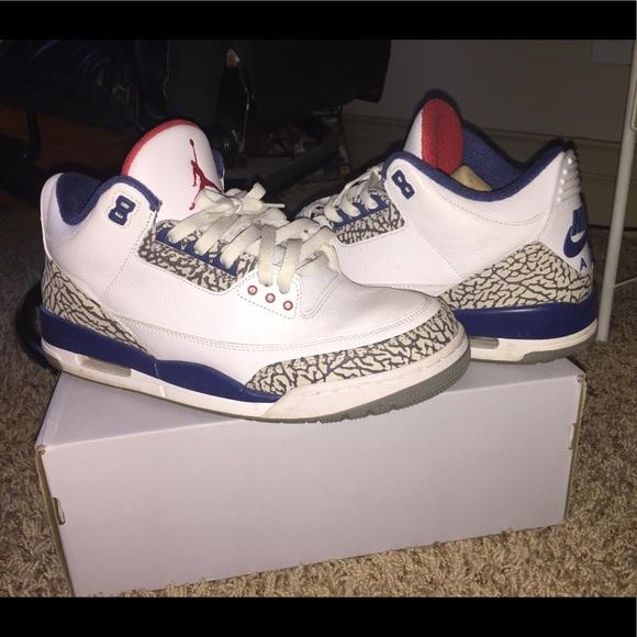 3ec6ad8198d Jordan Shoes | Retro True Blue 3s | Poshmark
